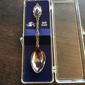 $5 in bundle - Antique Silver plated mini Spoon